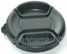 Front Lens Cap For Canon Powershot Sx10 IS with Keeper Snap-on