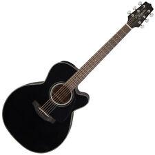 TAKAMINE gn30ce-nex Negro Brillante Tapa De Abeto Sólido - E/A Cutaway Guitarra