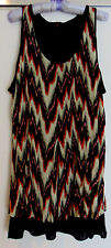 NEW COVER LONG TOP ~ SLEEVELESS ~ SIZE 18