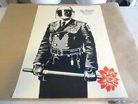 "2015 Shepard Fairey Obey Giant ""My Florist is a Dick"" ART PRINT PASTER POSTER"