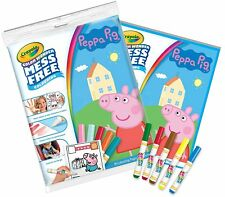 Crayola Peppa Pig Color Wonder Bumper Pack - 18 pages & 5 Markers