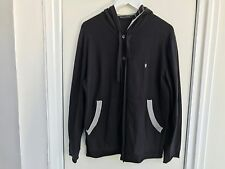 Men's Blue French Connection Button Through Hoodie in Large