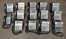 Lot Of 14 Nec Dterm Digital Office Display Phones Dtr 16d Dtr 8d Dtr 1 Amp Others