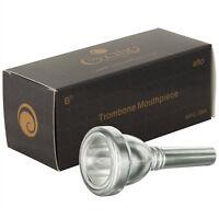 Cecilio Alto Trombone Mouthpiece, Silver Plated