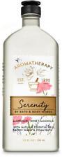 Bath & Body Works Aromatherapy Serenity Body Wash & Foam Bath 10oz New