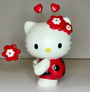 """NEW in Box Precious Moments Hello Kitty """"Ladybug"""" 8124003"""