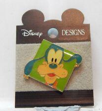 Disney Designs Pluto Pin Badge carded