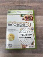 Arcade Unplugged Xbox 360 Live Volume 1