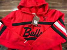 Chicago Bulls Mitchell & Ness Head Coach Pullover Hoodie - Red/Black Jordan