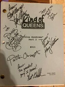 King of Queens Signed Script from THE Series Finale