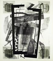 Kunst in der DDR, 1989. Serigraphie Heinz Jürgen BÖHME (*1952 D), handsigniert