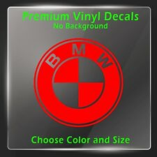BMW Decal - BMW Sticker Decal - BMW Decal Sticker - BMW Sticker Logo Emblem