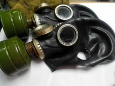GAS MASK GP-5M (PMG-2)  Black (Mask,Filter,Bag), New, Genuine, Soviet Army
