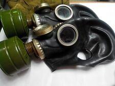 GAS MASK GP-5M (PMG-2)  Black (Mask,Filter,Bag), New, Genuine, Soviet Army