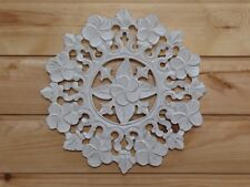 Wooden Painted Shabby Chic Floral Plaque 30cm...