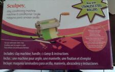Sculpey Clay rolling machine*pasta maker*polymer conditioning oven bake