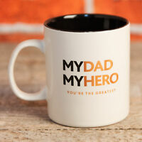 Mug - My Dad - My Hero - Gift For Him - Father Love Gift Present Father's Day