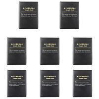 0201 0805 1206 0402 0603 1% SMD SMT Chip Resistor 170 Values Sample Book DIY
