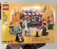 New Exclusive LEGO 40358 Bean There, Donut That Coffee Food Cart Shop NIB RARE