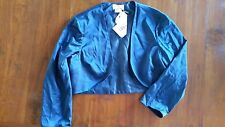 Studibaker Navy Lined bolero Jacket formal sz14 BNWOT free post E3