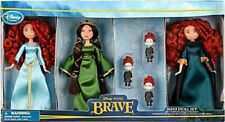 Disney Pixar Brave Merida Mini Doll  Playset NEW Queen Elinor Triplet Brothers