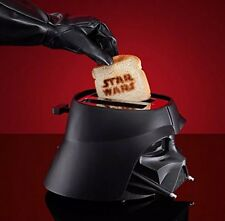 Pangea Brands Star Wars Darth Vader 2 Slice Toaster Black Brand New