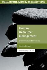 Human Resource Management : Rhetorics and Realities by Karen Legge (2005,...