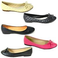 Womens Loafers Flats Ladies Faux Suede Slip On Work Office School Shoes Size