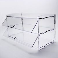 2 Tray Bakery Display Case Rear Door Donut Pastry For Hotel/Store/Coffee Shop