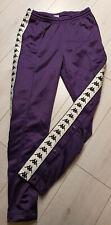 Kappa Banda Astoria Snaps Slim  Jooginghose mit Seitlichen Knöpfen Violet Gr. XS