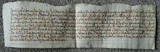 Vellum document - James 1st ?