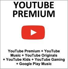 12 meses uTube. Premium (Nueva cuenta) 🔥 instantánea 1 segundos de entrega 🔥
