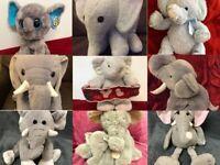 Elephant Soft Toy Various Makes