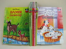 Walt Disney Children's Books, Lot of 7 Books