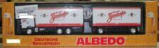 Albedo 250062 MB Actros Kofferhängerzug Zirndorfer 1:87 HO