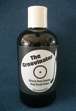 The Groovinator 4oz Record Vinyl Lp Cleaning Solution Concentrated Fluid Cleaner