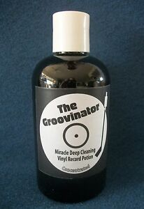 The Groovinator Record Vinyl Lp Cleaning Solution Concentrated Fluid 8oz Cleaner