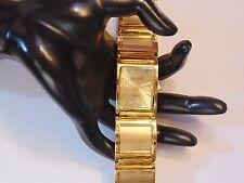 """Joan Rivers Quartz Gold Tone Picture Photograph Wristwatch 8"""" Long NWOT"""