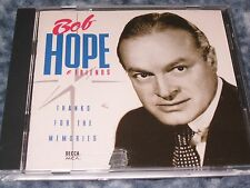 """BOB HOPE & FRIENDS CD """"THANKS FOR THE MEMORIES"""" 1992 MCA RECORDS"""