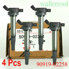 4PCS New 90919-02258 Ignition Coil FOR 2009-2015 xD 1.8L US SHIP