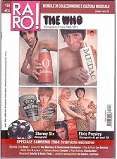 Raro! Rivista Musicale n° 154 The Who Stormy Six Elvis Presley