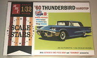 AMT 1960 Ford Thunderbird 1:32 scale model car kit new 1135