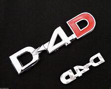 D4D Badge Emblem Decals Logo Chrome for Toyota Hilux Vigo Sr5 Mk6 Mk7 Hiace 05+