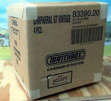 BOX OF 4 X SCX VINTAGE 1/32 83390.20 CHAPARRAL GT - LIMITED EDITION, NIB