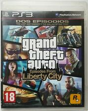 Grand Theft Auto. Episodes From Liberty City. Ps3. Fisico. Pal Es