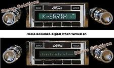 1966-70 Ford Falcon NEW USA-630 II* 300 watt AM FM Stereo Radio iPod, USB, Aux