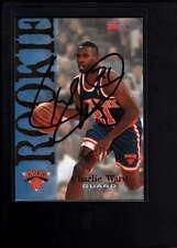 1995 SKY BOX #353 CHARLIE WARD AUTHENTIC ON CARD AUTOGRAPH SIGNATURE AX2083