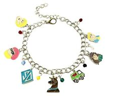 Scooby Doo Themed Cosplay Charms Silvertone BRACELET