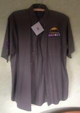 Chestnut Hill Men's Grey Khaki Shirt NEW Size Medium Cardona Mississippi Canyon