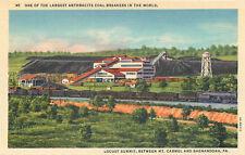Mt. Camel Pennsylvania - Locust Summit Anthracite Coal Breaker Curteich Postcard